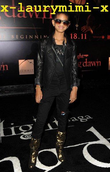 "Willow Smith : «The Twilight Saga: Breaking Dawn"" World Premiere 2"