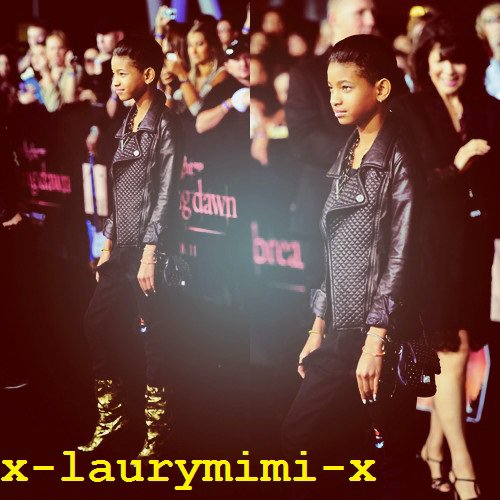 "Willow Smith : «The Twilight Saga: Breaking Dawn"" World Premiere 6"