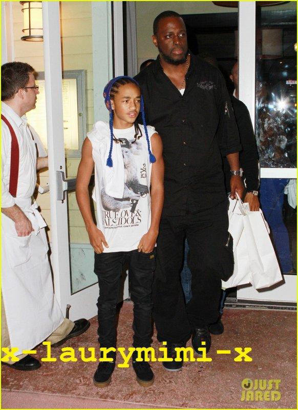 Will and Jaden Smith en promenade a Miami 1