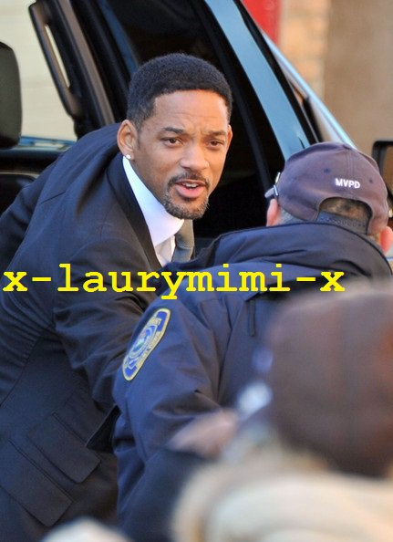 Will and Jada Smith au funeirail de Heavy D's 1