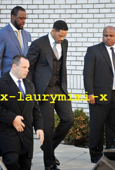 Will and Jada Smith au funeirail de Heavy D's 2
