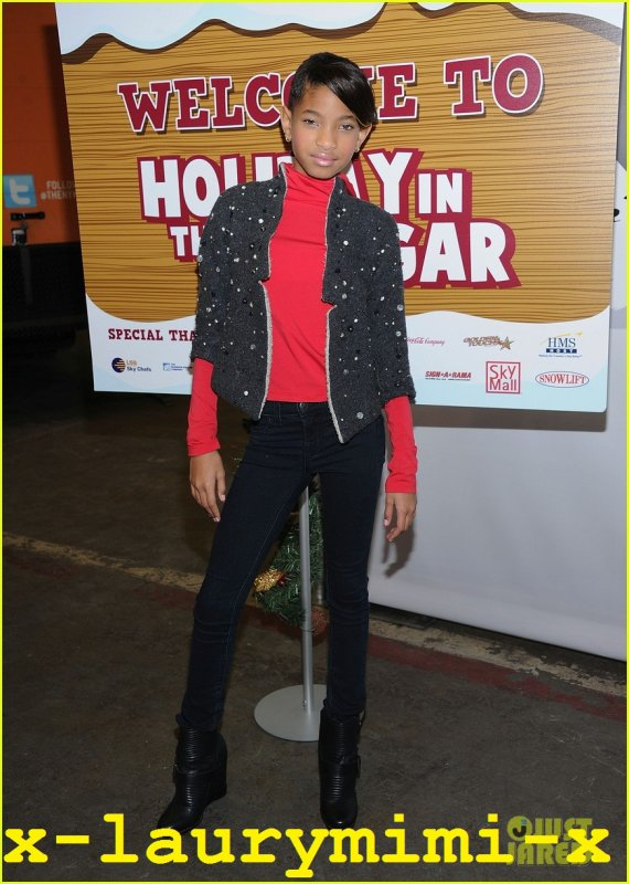 Will & Willow Smith: vacances dans le hangar! 2