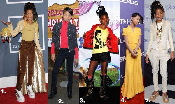 Quel tenue est votre tenue préférer de Willow ?