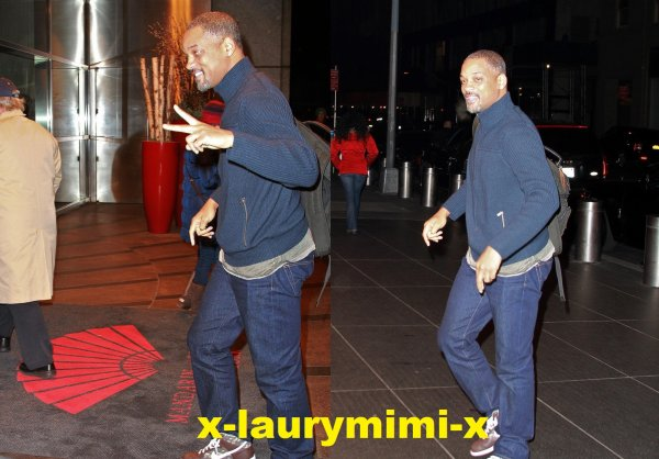Jaden et Will Smith aperçus a New York