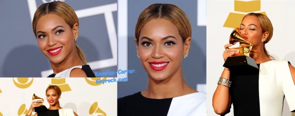 Beyoncé Knowles aux Grammy Awards
