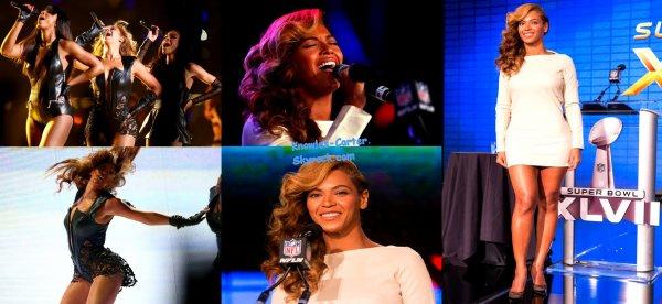 Beyoncé Knowles Pour Le Super Bowl