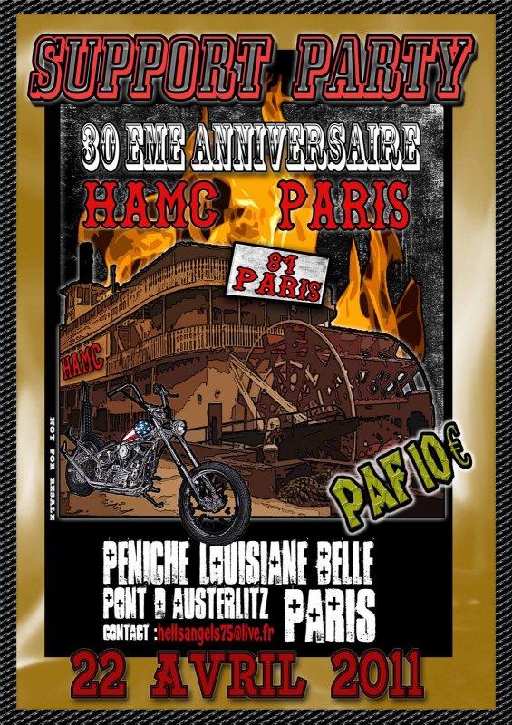 HAMC PARIS - 30 ANS
