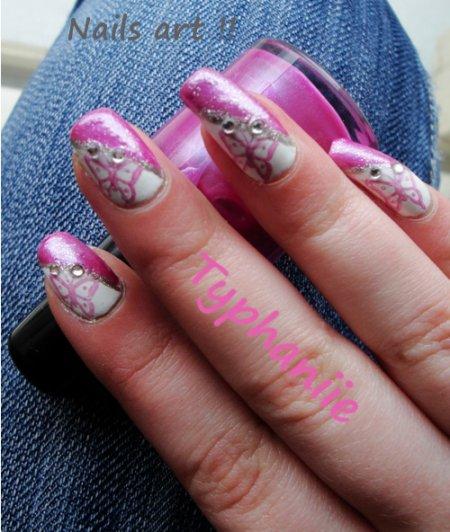 nail art fée