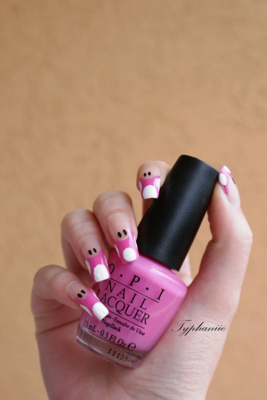 Nail art Toadette