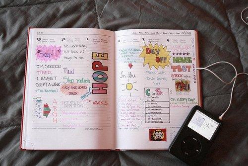 Bien connu Aujourd'hui j'ai personnaliser mon agenda ! :coolmavie: - Parceque  ST75