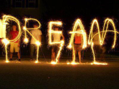 J'ai un rêve particuliers est je voulais vous le partager donc voila ...
