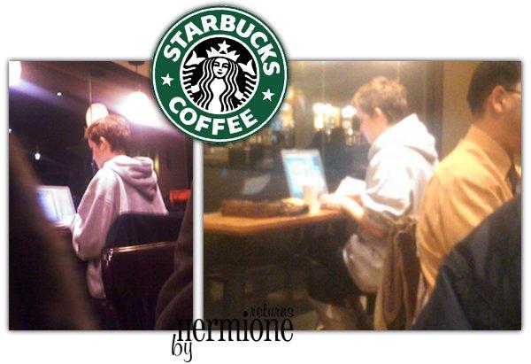 Emma chez Starbucks