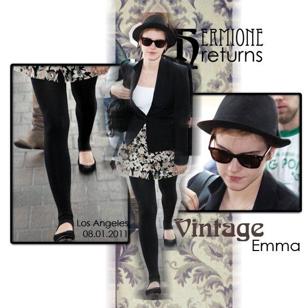 Emma à Los Angeles