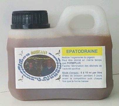 NOS PRODUITS EXCLUSIFS  l'Epatodraine