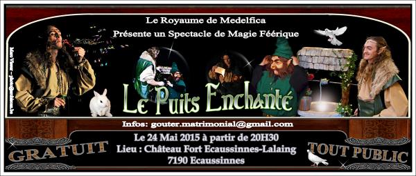 24 MAI Spectacle de Magie GRATUIT !