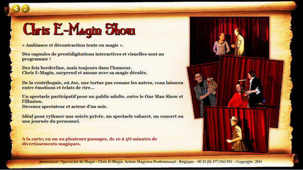 Chris E-Magin Show