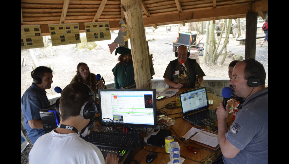 Noy'on Air : Interview radio au Parc Carisiolas  le 12 Juillet 2015