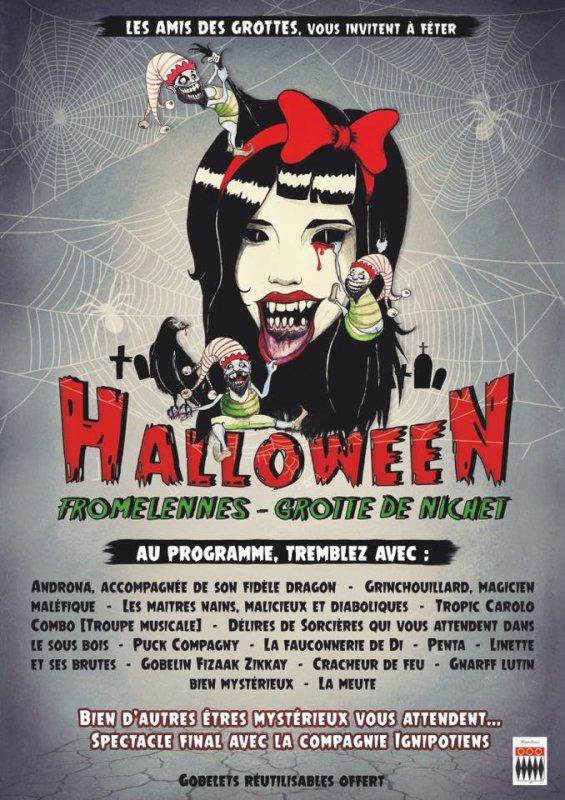 Halloween aux grottes de NICHET