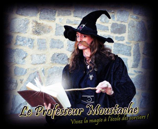 Le Professeur Moustache