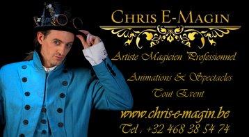 Chris-E-Magin, Concepteur de rêves éveillés