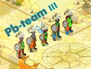 Les Croca et la Pb team
