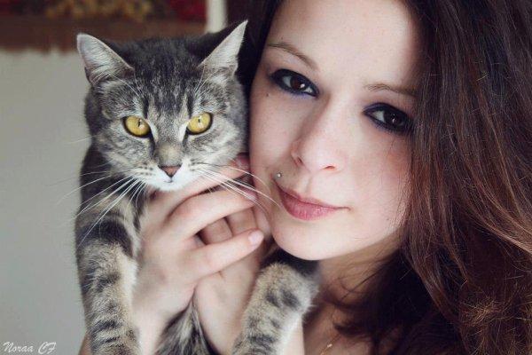 mon amour de chat ( Keisha ) et moi