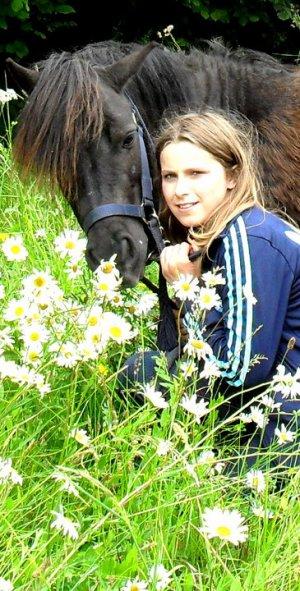 Mon poney chéri!