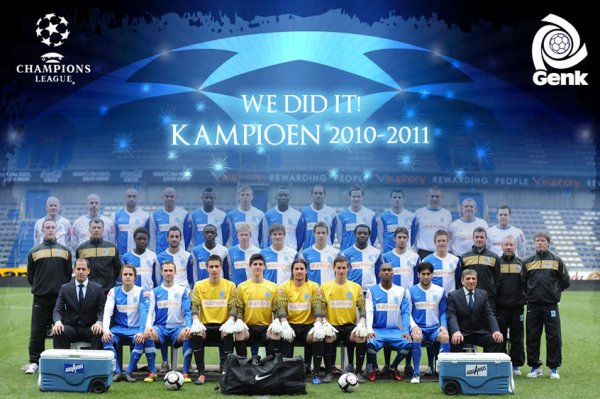 ************** RC GENK CHAMPION 2010 - 2011 ********
