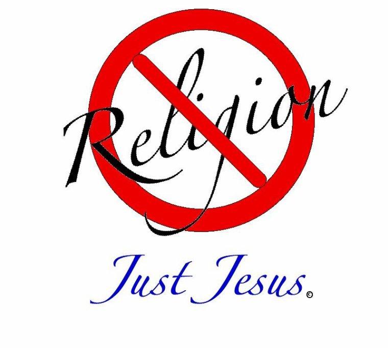 La Religion ne sauve pas , Mais Jésus lui sauve !