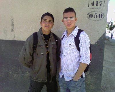 mon ami et moi en 2007 / 2008 .... 4 eme anné