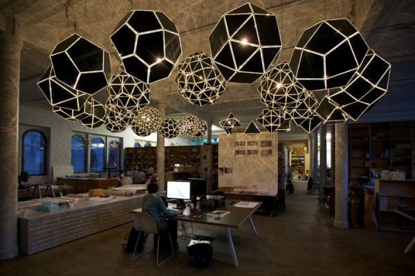 A Mathematically Celestial Light Installation