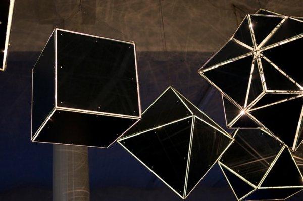 A Mathematically Celestial Light Installation