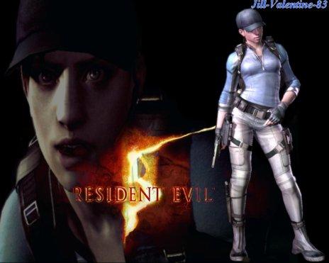 Jill Valentine dans Resident Evil 5