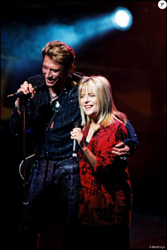 JOHNNY AVEC FRANCE GALL FOR EVER