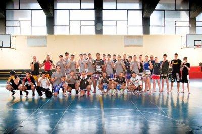 Stage de boxe thaï avec Sudsakorn le 19 Mars 2011 à Saluzzo (Italie)