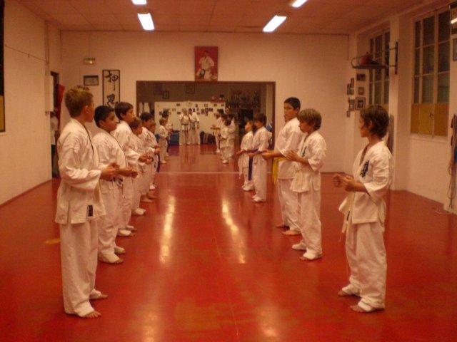 Le cours des enfants au Makoto Shi-Kon Dojo