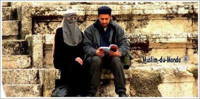 Muslim du mande couple muslim   ^^