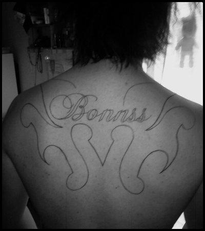 Mon deuxiéme tatouage .