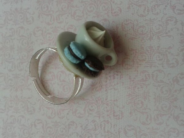 "Bague ""tea time"""