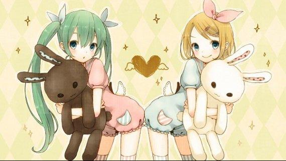 Rin et Miku