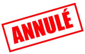 L'exposition et la vente sont annulé pour cause de COVID-19
