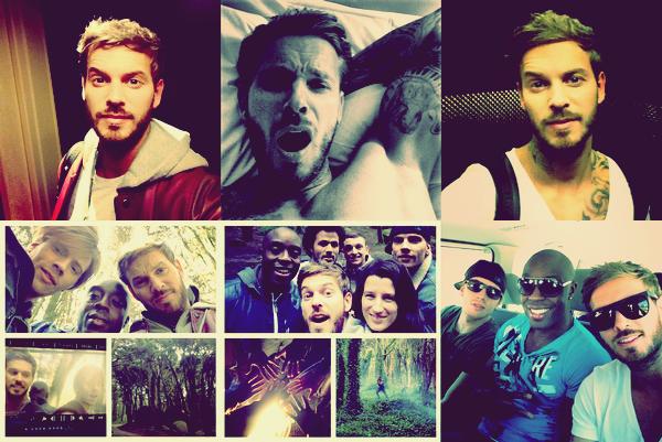 """Quelques membres de la troupe de Robin Des Bois se sont envolée pour Lisbonne afin de tournée leurs nouveau clip """"A nous"""" , cette chanson est interpréter par M.Pokora, Nyco Lilliu et Marc Antoine !"""