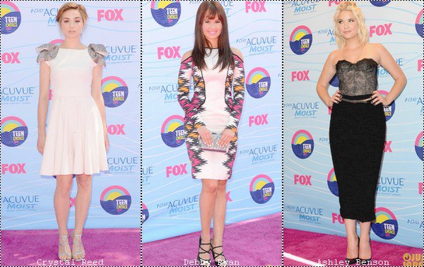 Evènement : Teen Choice Awards 2012