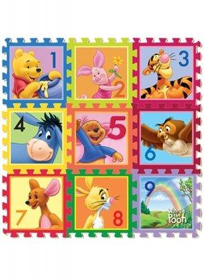 Apprendre à compter avec Winnie et ses amis