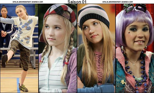 _  L'évolution de Lily Truscott (Emily dans HM) de la saison 1 jusqu'a la saison 4 . Vous trouvez qu'elle à changer ? En quel année la préférez vous ? (Je trouve qu'elle à changer à partir de la saison 3 et je la préfère dans la saison 4) _