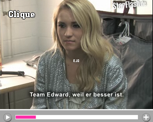 """_  J'ai mis les dernières vidéos d'Emily ; Des interviews , une vidéo avec les """"behind the scenes"""" où Emily est en studio, une vidéo ou elle est interviewé et ou elle chante """"LoveSick"""". _ Que pensez vous de ces vidéos ? _"""