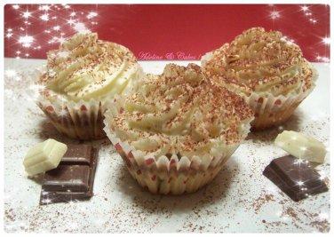CupCakes Tiramisu, Choco Praline & meringue Italienne !