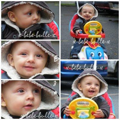 bébé bulle à 7 mois