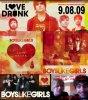 Première anniversaire de l'album Love Drunk demain ! :D