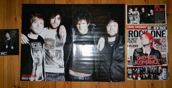 Poster du groupe dans ROCK ONE HS n°6 ! Avec un article & une carte de Martin.
